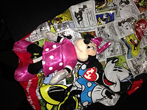 Disney Ty Minnie Mouse - Sparkle Pink Small Plush by Ty