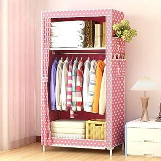 CXVBVNGHDF Armoire Portable en Tissu pour Organisateur de Rangement de vêtements avec Tissu Non tissé, 4 Poches latérales ...