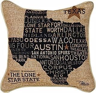 SKArtStore Decorative Throw Pillow Case Cushion Cover 45cm45cm O:004 Texas