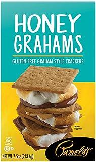 Pamela's Products Gluten Free Graham Crackers, Honey, (pack Of 6)