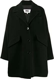 MAISON MARGIELA Luxury Fashion Womens S52AA0070S47852900 Black Coat | Fall Winter 19