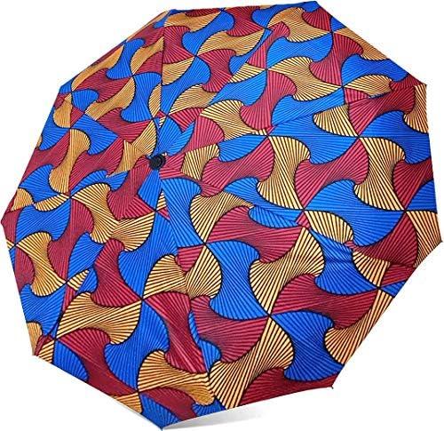 African print umbrella _image0