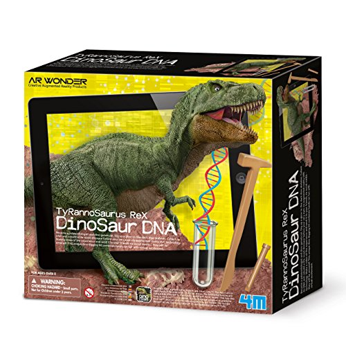 4M- Tyrannosaurus Rex: Dinosaur DNA Mundo Animal (00-07002)