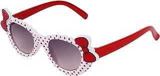 Zyaden Kids Red Cat-Eye Sunglasses 7 (Age 4+)