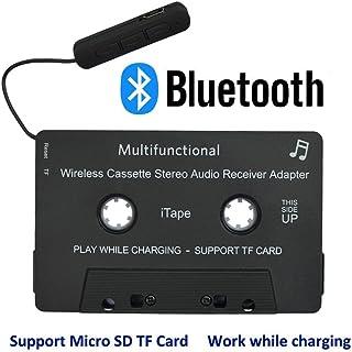 iTape cassette adaptador coche Bluetooth trabajo mientras se