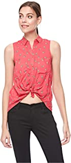 Bershka Crop Tops For Women S, Red