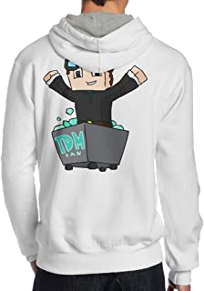 Show Time Men's Diamond TDM Game Funny Sweater Ash