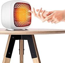 Calefon Calefactor Portátil, Mini Calefactor Eléctrico, Calefactor De Cerámica con Protección contra Sobrecalentamiento, Termostato Regulable - para Escritorio Oficina Interior