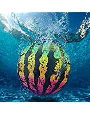 Bola de Sandía Piscina Playa Juguete Sandía Relleno de Agua Globo Submarino Inflable Bola de Plástico para Niños Adecuado para Adultos Adolescentes Y Niños