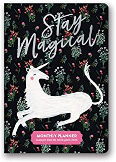 Orange Circle Studio 2020 Monthly Pocket Planner, Stay Magical