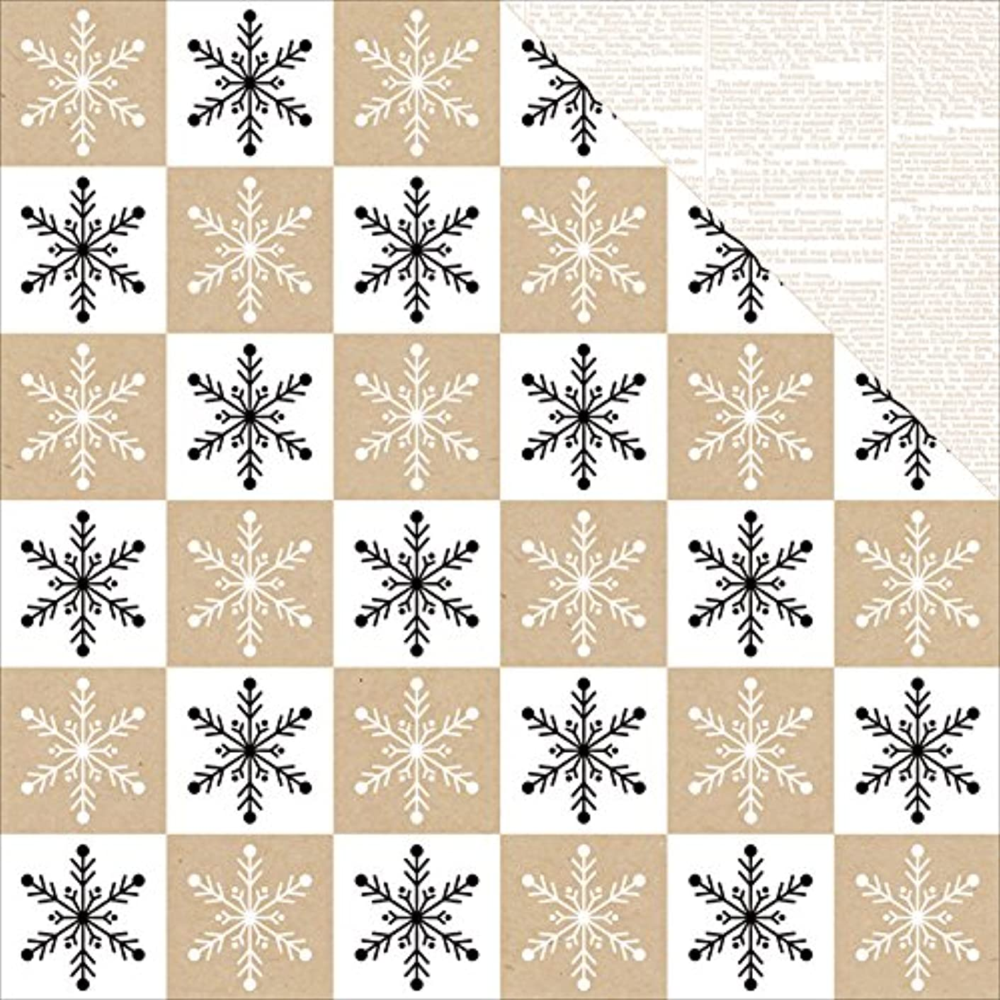 Winter Paperie Double-Sided Cardstock 12