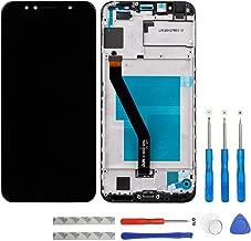 شاشة swark LCD متوافقة مع Huawei Y6 2018 ATU-LX1 LX2 LX3 L21 L23 L11 / Y6 Prime 2018 ATU-L31 L42 / استمتع بشاشة لمس سوداء مع إطار + أدوات