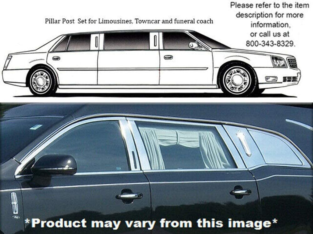 QAA fits It is very popular 2010-2020 Lincoln MKT Eagle Hearse sale 8 Piece Stainl Icon