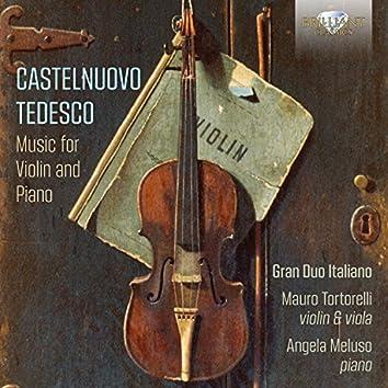 Castelnuovo-Tedesco: Music for Violin and Piano