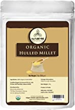 Naturevibe Botanicals Organic Hulled Millets, 2lbs | Non-GMO and Gluten Free | Whole Grain | Source of Protein and Fiber