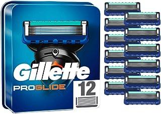 Gillette ProGlide scheermesjes voor mannen, 12 stuks, met 5 anti-irritatie-messen, voor een grondige en langdurige scheerb...