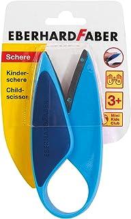Eberhard Faber 579951 – nożyczki dziecięce dla osób leworęcznych i praworęcznych, optymalne do cięcia i majsterkowania z m...