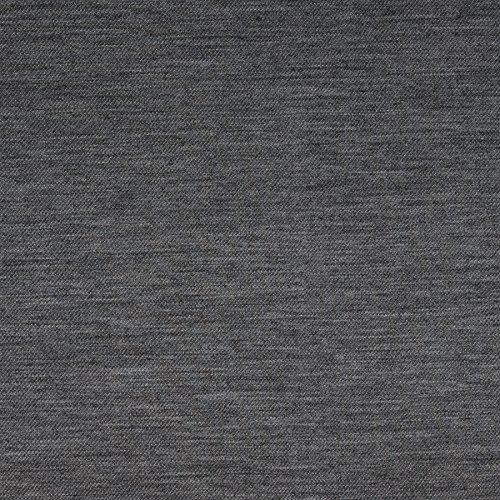 MIRABLAU DESIGN Stoffverkauf Strickstoff mit Schurwoll Anteil grau meliert (1-077M), 0,5m