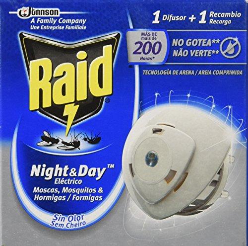 Raid - Night & Day - Anti-mosquitos Eléctrico  - Aparato + Recambio