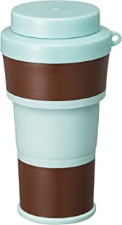 伊勢藤 日本製 折りたたみ 水筒 Cottle 450ml チョコミント I-531