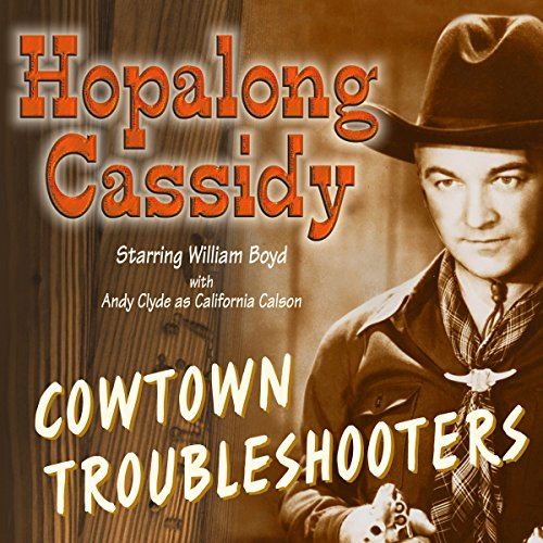 Hopalong Cassidy audiobook cover art