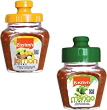 Eastern Pickles Combo - Lemon Pickle (300gms), Mango Pickle (300gms) - Pack of 2
