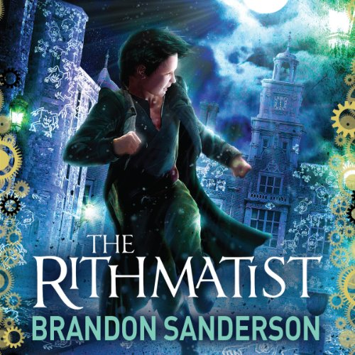 The Rithmatist audiobook cover art