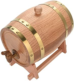 yunyu Oak Wine Barrel Wine Barrel Whisky Brandy Storage Tank / / 10L (3L)