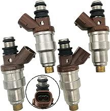 Automotive-leader 4pcs Set Fuel Injectors 2 Holes for 4Runner Tacoma 1996-2000 T100 1996-1998 2.7L-L4 23250-75050 23209-79095