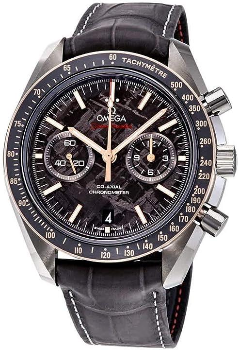 Orologio omega speedmaster moonwatch meteorite quadrante mens orologio 311.63.44.51.99.002