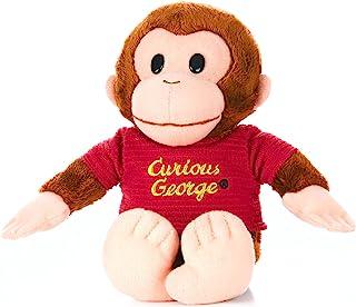 "KIDS PREFERRED Curious George Monkey Plush - Classic George 8"" Stuffed Animal"