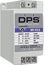 Capcom Phase Converter for 3HP Motor(3-5HP), Digital Phase Converter, 1 Phase to 3 Phase