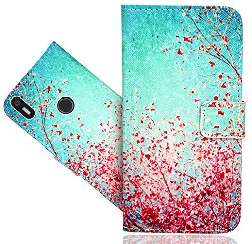 BQ Aquaris X5 Plus Handy Tasche, FoneExpert® Wallet Hülle Flip Cover Hüllen Etui Hülle Ledertasche Lederhülle Schutzhülle Für BQ Aquaris X5 Plus