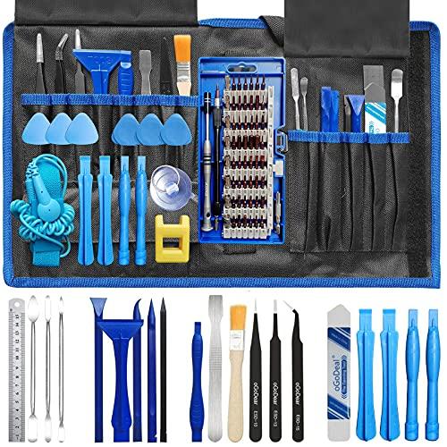 oGoDeal Pro Tech Feinmechaniker Schraubendreher Set Präzisionsschraubendreher Werkzeug Set öffnungswerkzeug für Handys,PC,Laptop,Computer,iPhone,PS4,Tablet,Uhren,MacBook,Kamera,Xbox Reparatur