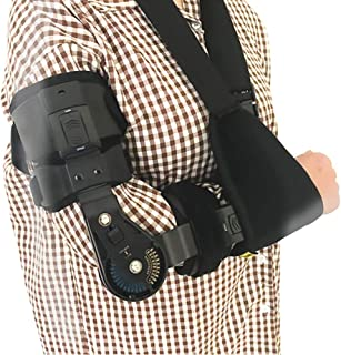 Cubital Tunnel Syndrome Elbow Brace | Splint to Treat Pain from Ulnar Nerve Entrapment, Hyperextended Elbow Prevention and...