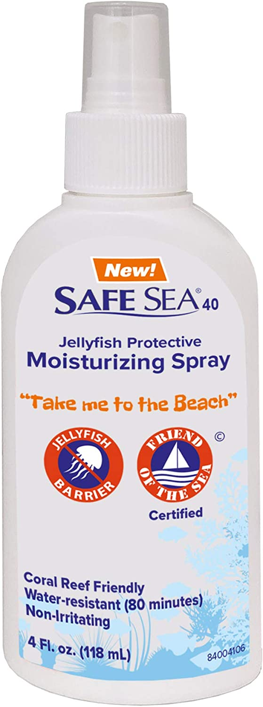 Safe-sea Coral Friendly Moisturizing Spray   Hypoallergenic Jellyfish & Sea Lice Protection Spray (1 Pack)