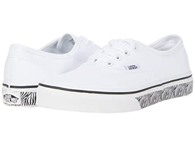 Vans Kids Authentic (Big Kid) ( Girls Shoes