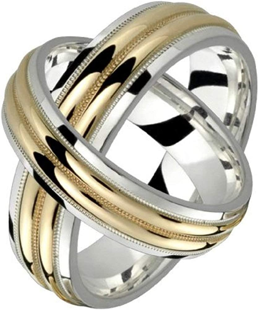 Alain Raphael 2 Tone Shipping included Sterling Silver 10k Gold and Milli 6 Yellow Purchase