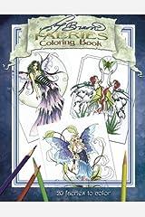 Amy Brown Faeries Coloring Book 2 Paperback