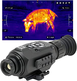 theOpticGuru ATN Thor-HD Thermal Scope with HD Video rec, Smooth Zoom, Bluetooth and Wi-Fi (Streaming, Gallery & Controls)