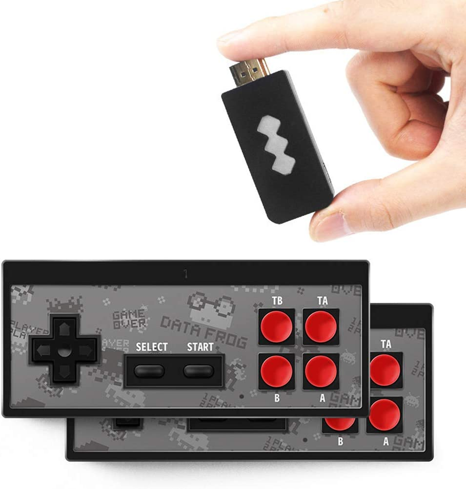 Ysimee Mini Consola de Juegos Retro HDMI 4K TV Consola de Juegos y 568//1400 Juegos cl/ásicos incorporados Gamepad inal/ámbrico Consola de Videojuegos Plug /& Play