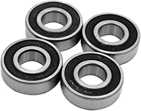sourcing map 4Pc 6203RS Moto Scooter Rotation Billes /étanche 40x17x12mm