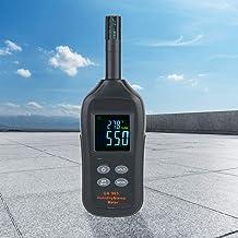 IGKE Higrómetro termómetro, higrómetro termómetro Digital Multifuncional portátil, Duradero para Biblioteca de Habitaciones automático