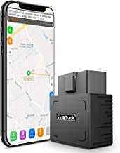 SinoTrack GPS Tracker Platform No Monthly Fee, Real-Time OBD Car GPS Tracking Device Locator, Mini OBD II Vehicle Tracker with Alert System for Car, Taxi and Truck, Support Free Platform Lifetime
