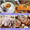Philonext Chalumeau de Cuisine pour caramélisation crème brûlée, Chalumeau culinaire, Barbecue Torche culinaire Chalumeau de Cuisine Brul (Silver) #3