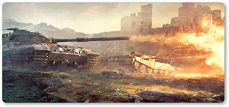 Zyhx34 Tank world mouse pad personalized game mouse pad laptop large game pad game player mouse pad game computer customization-800x400x3mm