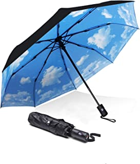 ABCCANOPY Umbrella Compact Rain&Wind Teflon Repellent Umbrellas Sun Protection with..