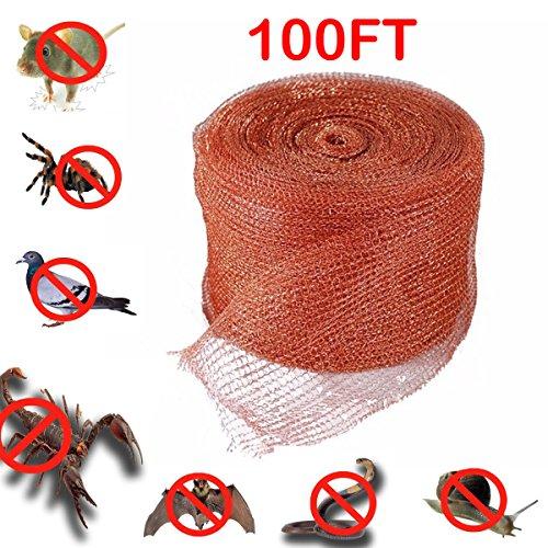 roedor Serpiente murci/élago Caracol Insecto Rata Malla de Cobre Tejida Kylewo Malla de Cobre Fino multiprop/ósito Control del rat/ón para Control de plagas