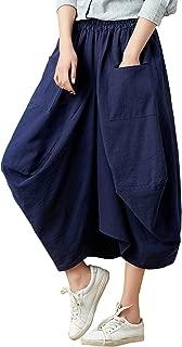 Best linen midi skirt Reviews