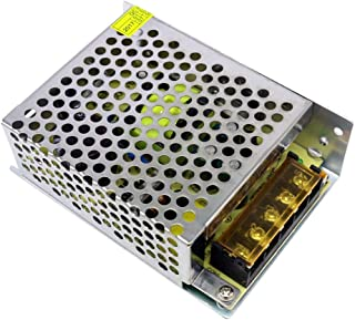 Gecheer DC 5V 10A 50W Voltage Transformer Regulated Switching Power-Supplys Adapter Converter for Strips Light Camera Comp...